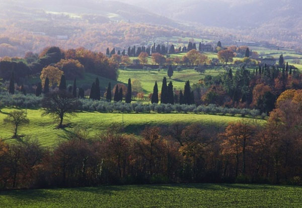 Arezzo in Tuscany, a magic place for October